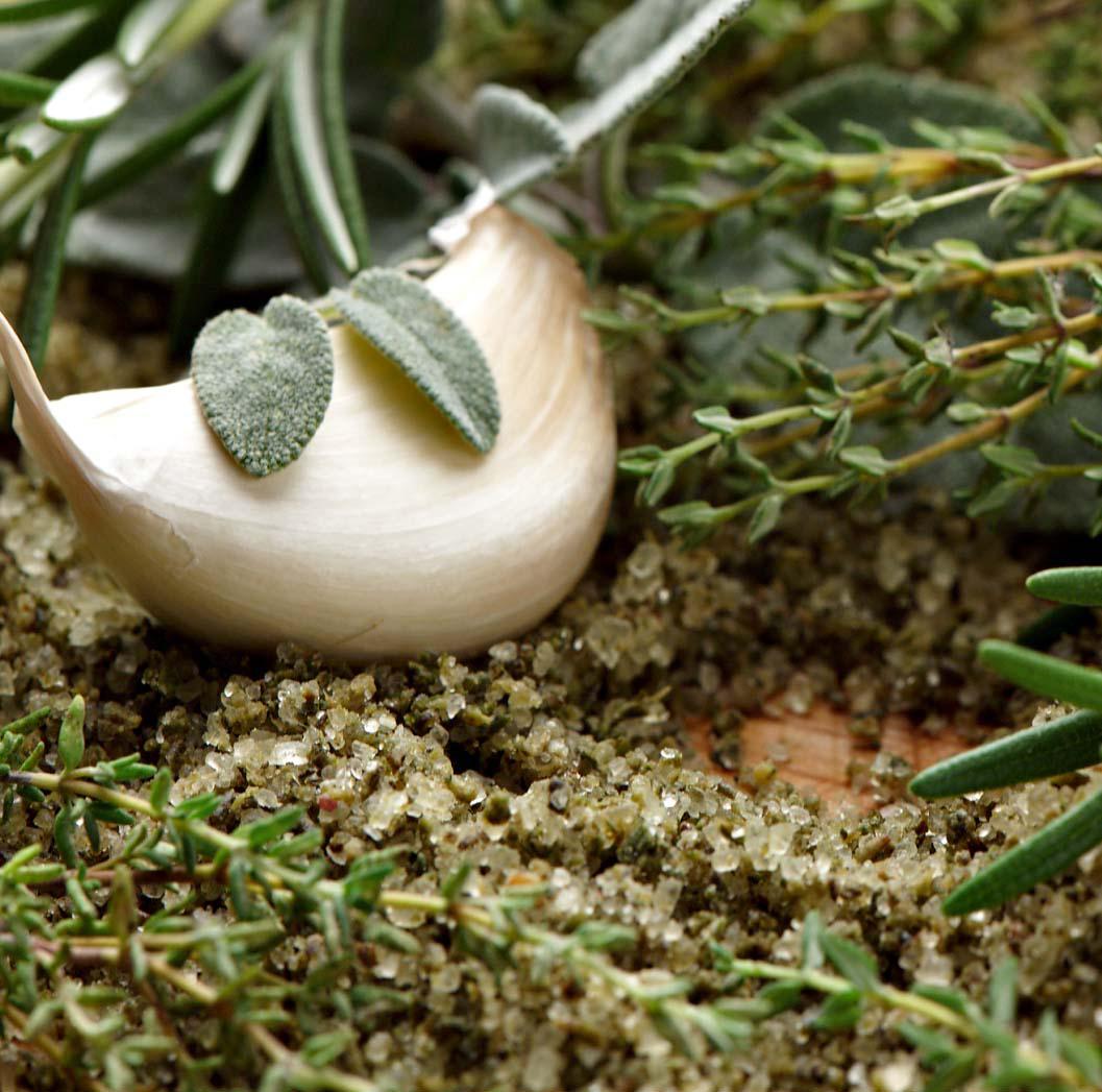 toscaans kruidenzout uitgelicht